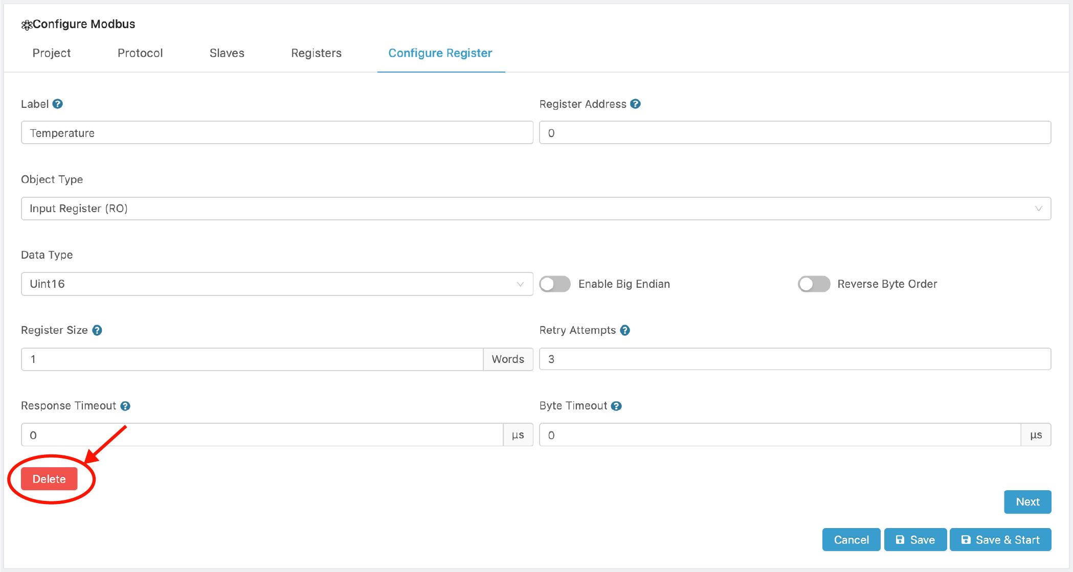 RTU over TCP Master Configuration - CloudPlugs Edge One™ Platform